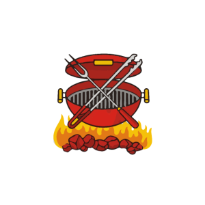 Lustiges Barbecue Design Grill Papa