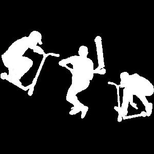 Scooter Stunt Stunts Trick Tretroller Geschenk