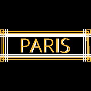 Paris Art Nouveau Schriftzug