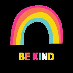 Sei freundlicher Regenbogen