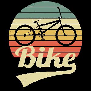 Bike Retro Vintage Dirt Bike Biker MTB