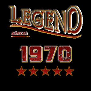 Legend since 1970 / Legende seit 1970 / legendär