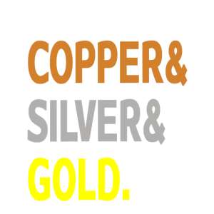 Kupfer & Silber & Gold.