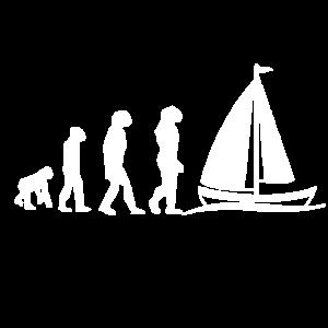 Segelboot Segelboot Liebhaber Evolution Geschenk