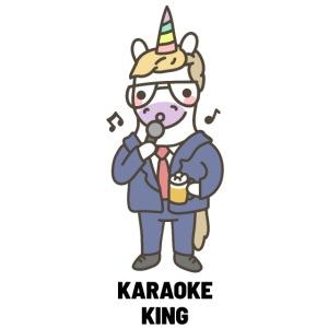 Mascarilla Rey del Karaoke | Humor Unicornio
