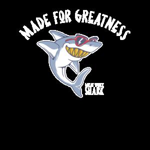 Hai-Hemd Grosser Weißer Hai Fisch Ozeantier