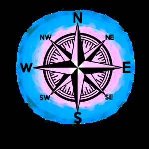 Windrose Kompass Maritim Nautik Seefahrt Kompass