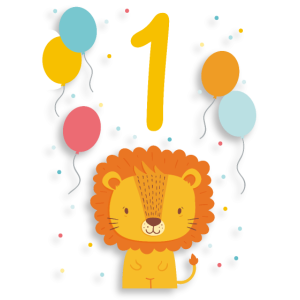 1. Geburtstag Geburtstagsshirt Erster Geburtstag