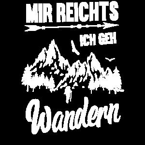 Bergsteiger Mir Reichts Ich Geh Wandern Geschenk