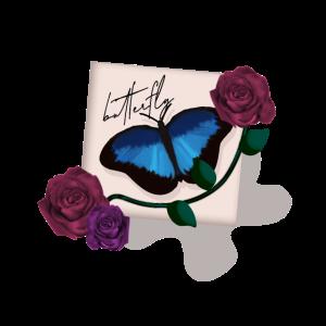 Schmetterling Romantik Butterfly