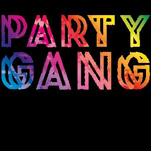 Party Gang Team Feiern
