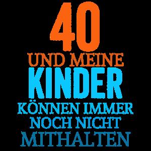40. Geburtstag Jahre Geburtstagsgeschenk Geschenk