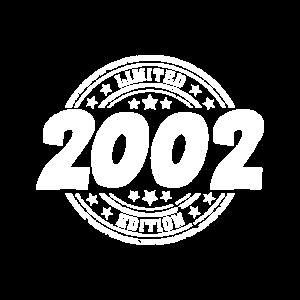 18. Geburtstag 2002 Geschenk Geschenkidee T-Shirt