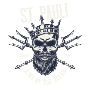 Love St. Pauli Hate Racism Paulianer Geschenk HH