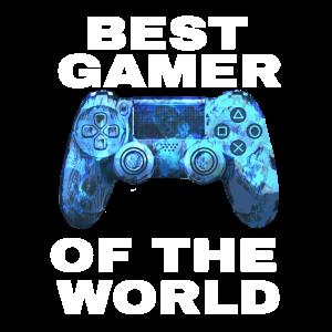 BEST GAMER OF THE WORLD Controller PSX