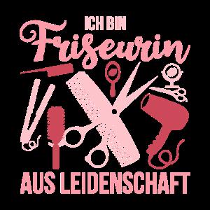 Friseurin Spruch Schere Kamm