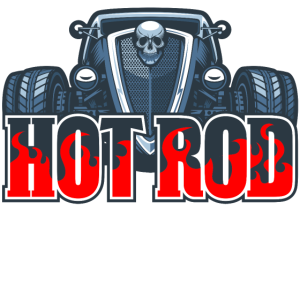 Hot Rod Auto Tuning Geschenk Vintage Retro USA