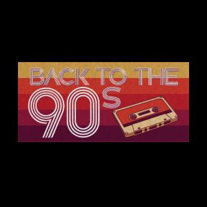 Back To The 90s Neunziger Retro 90er Flashback