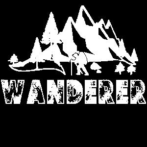 Wanderer- Wander Shirt zum Wandern