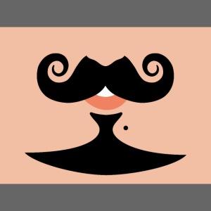 Sourire à moustache