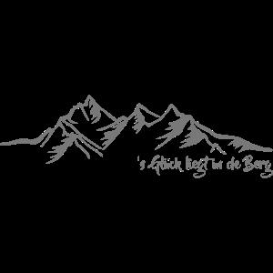 Das Glueck liegt in den Bergen