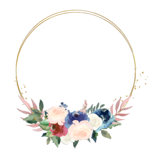 Kreis Blumen Bouquet