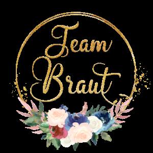 Team Braut 2 Kreis Blumen Bouquet