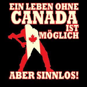 Canada Day Ahorn Flagge Montreal Toronto Geschenk