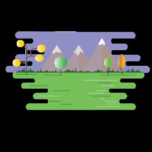 Landschaft Park