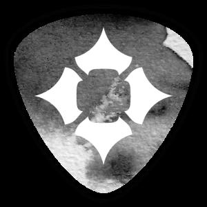 Pandora Di'zain Logo Aquarell sw