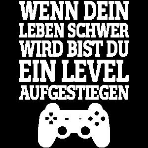 Lustiger Spruch für zockende Gamer Videospiel luck