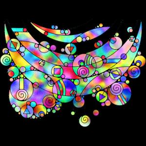 Geometrische Kunst Lebensabschnitte 3