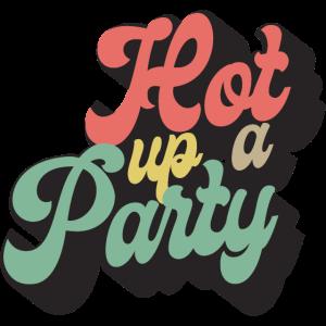Eine Party anheizen