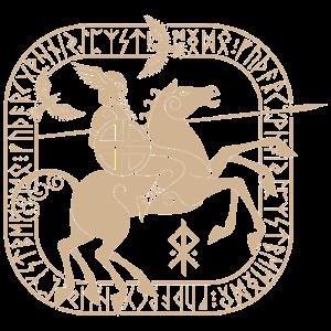 Wikinger Design Odin