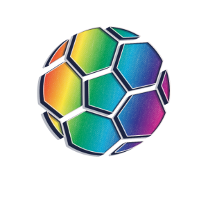 Soccer Retro Rainbow