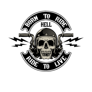 Born to ride ride to live