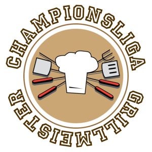 Championsliga Grillmeister Barbecue Grillen Mann