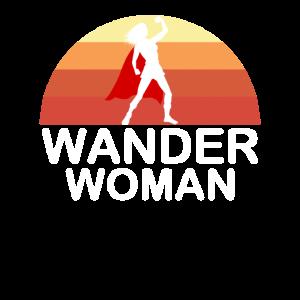 Wander Woman Retro Vintage