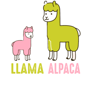 Alpacas Are Cooler - Alpaka Lama
