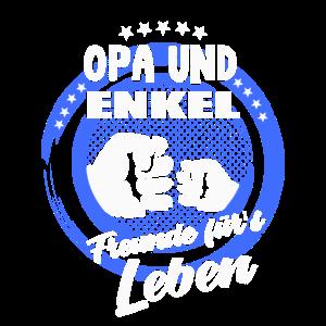 Opa und Enkel Freunde fürs Leben Shirt Bester Opi