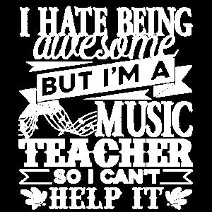 Musiklehrer Lustiger Musiklehrer