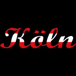"""Köln"" Rot-Weiss [Script MT Bold]"