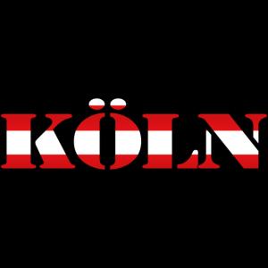 """Köln"" Rot-Weiss [Stencil]"