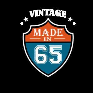 Vintage Made In 65 Sport 1965 Geburtstags Geschenk