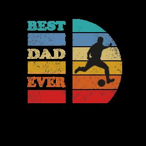 Best Dad ever Fussball Geschenk