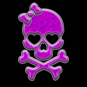 Pink Lady Skull | Schädel Totenkopf