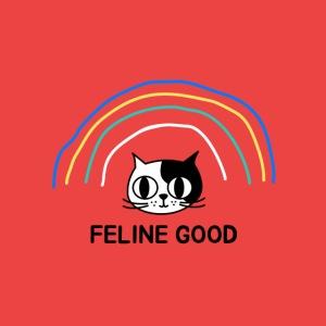 Mascarilla Gato | Feline Good | Humor