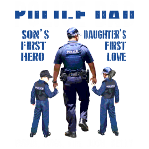 Police Dad Son's First Hero Daughter's First Love