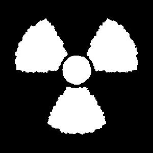 Nuklear Symbol Zeichen