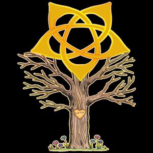 Baum mit Lebensblume - Love - spirituell